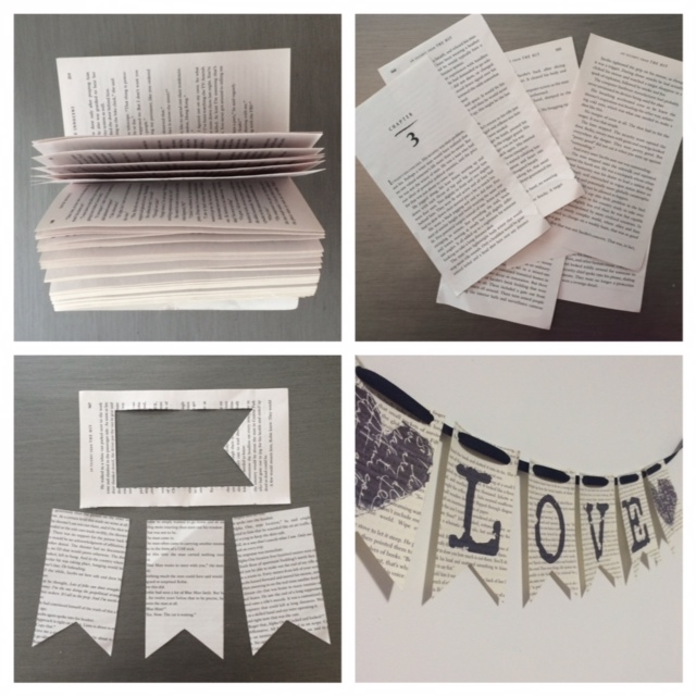 A New Chapter Book Page Crafts Pretties For Pennies